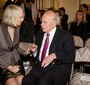 JKEF President Wanda Urbanska and Sigmund Rolat (Photo: Chris Osipowicz)