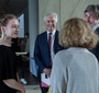 Ambassador RP to Belarus, Artur Michalski, JKEF Board Chairman, Andrzej Rojek, and FEJK's President Ewa Junczyk-Ziomecka talk to Urszula Woźniak, who was honored with the Karski2020 Award (Photo: Ewa Radziewicz)