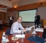 At one of the Georgetown Leadership Seminar Sessions (Photo: courtesy of Rafał Siemianowski)