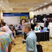 Exhibit Hall at the 2017 Florida Council for the Social Studies Conference (Photo: Aleksandra Cummings)