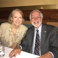Wanda Urbanska, former President of the Jan Karski Educational Foundation, and Ambassador Timothy Chorba, President of the Council of American Ambassadors (Photo: Courtesy of Wanda Urbanska)