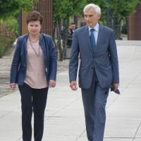 Hanna Gronkiewicz-Waltz, Prezydent m.st. Warszawy i Maciej Święcicki, były prezydent Warszawy