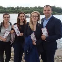 Delegacja słuchaczy Krajowej Szkoły Administracji Publicznej XXVII Promocji im. Jana Karskiego