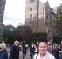 Magdalena Brzozowska on the Georgetown University campus (Photo: Courtesy of Magdalena Brzozowska)