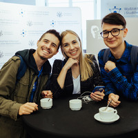 The University of Warsaw students participating in the conference (Photo: Przemek Bereza)
