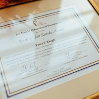 The Spirit of Jan Karski Award (Photo: Przemek Bereza)