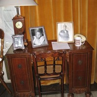 Karski's desk, now in the Museum of the City of Lodz (Photo: Jane Robbins)