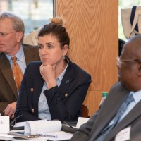A GLS session. In the middle: Monika Korowajczyk-Sujkowska  (Photo: Courtesy of Georgetown University)