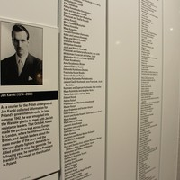 Information about Jan Karski on the list of the Righteous Among the Nations at the U.S. Holocaust Memorial Museum in Washington, D.C. (Photo: Wojciech Szkotnicki)