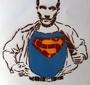 Karski as a super hero! (Photo: Dariusz Paczkowski)