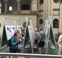 Karski exhibit in Krakow for World Youth Day (Photo: Dariusz Paczkowski)