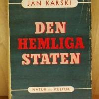 Szweckie wydanie Tajnego państwa z 1945 r.