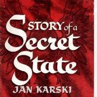 Okładka oryginalnego wydania Tajnego państwa z 1944 r. (wydawnictwo Houghton Mifflin Company)