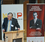 Professor M.B.B. Biskupski moderating the panel devoted to Karski  (M.Szacho/Fototaxi)
