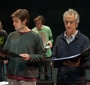 Rafeal Suanes and David Strathairn during a rehearsal (Photo: Seweryn Pogorzelski)