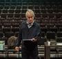 David Strathairn as Karski during a rehearsal (Photo: Seweryn Pogorzelski)