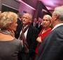 JKEF President Wanda Urbanska and JKEF Chairman Andrzej Rojek (on the right) with guests Krysia Lindan and Paweł Wawrzecki (Photo: Seweryn Pogorzelski)