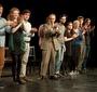 """Remember This: Walking with Jan Karski"" cast (Photo: Seweryn Pogorzelski)"