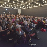 Audience at Adam Michink's lecture (Photo: Peter Smith)