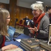 Agata Tuszyńska at her book signing  (Photo: Peter Smith)