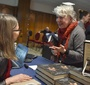 Agata Tuszyńska at her book signing  (Photo: Peter Smith)