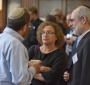 Shaul Stampfer of the Hebrew University, Ela Bauer of the Tel Aviv University, and Gershon Bacon of the Bar-Ilan University at the 4th PJSW (Photo: Peter Smith)
