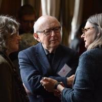 Mr. and Mrs. Arthur Supay and Agata Tuszyńska at the 4th PJSW (Photo: Peter Smith)