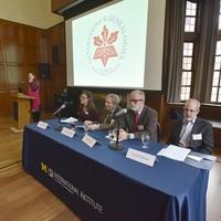 Genvieve Zubrzycki's opening remarks (Photo: Peter Smith)