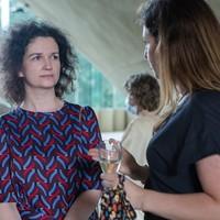 Absolwentki Georgetown Leadership Seminar, Dr. Agnieszka Bieńczyk-Missala i Monika Korowajczyk-Sujkowska (Fot. Ewa Radziewicz)