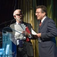 David Goldman and Anthony Kronman (Photo: Melanie Einzig)
