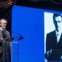 David Strathairn talking about Jan Karski (Photo: Melanie Einzig)