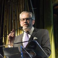 David Marwell delivering his acceptance speech (Photo: Melanie Einzig)