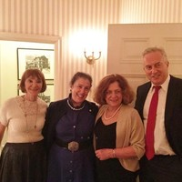 Eve Fogelman, Patti Kenner, Ewa Junczyk-Ziomecka i Andrzej Rojek (zdj. JKEF)