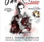 The Spirit of Jan Karski Award Ceremony poster (Designed by Maja Szychowska)