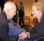 Walter Zachariasiewicz and Madeleine Albright
