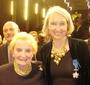 Madeleine Albright with Wanda Urbanska