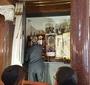 W synagodze Nożyków w Warszawie (JJ)
