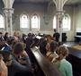 W kościele ewangelicko-reformowanym przy Al. Solidarności. (JJ)