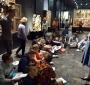 W Muzeum Narodowym podczas lekcji o sztuce. (JJ)