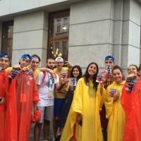 Pielgrzymi Światowych Dni Młodzieży (zdj. Monika Nowak)