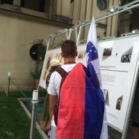 """Wystawa """"Jan Karski. Człowiek wolności""""  (zdj. Monika Nowak)"""