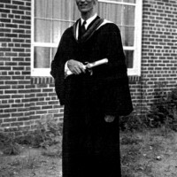Jan Karski 1953 PhD. Georgetown University (Photo: courtesy of the Hoover Institution Archives, Stanford, Calif.)