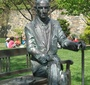 Karski statue at Georgetown  (Photo: Jane Robbins)