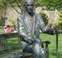 Karski statue at Georgetown (Courtesy Jane Robbins)