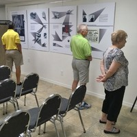 The viewing of the Karski exhibit at the Holocasut Museum and Edu. Ctr. of SWFL (Photo: Courtesy of the Holocaust Museum and Education Center of Southwest Florida)