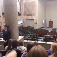 Visit to the Polish Sejm (Photo: Courtesy of FEJK)