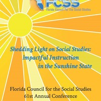 The 61st Florida Council for the Social Studies Conference poster