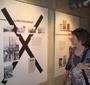 At the exhibit (Bozena Zaremba)