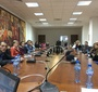 Podczas wykładu na uniwersytecie w Wielkim Tyrnowie