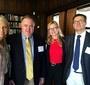 Wanda Urbanska, Thomas Wood (Karski's biographer), Beata Dzon and Robert Kostro (Photo: Wanda Urbanska)